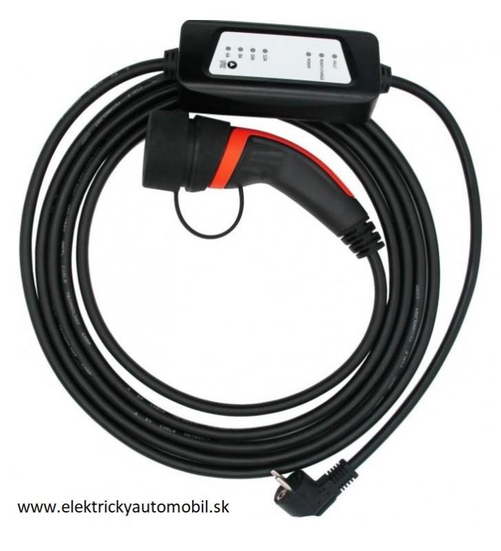 Nabíjací kábel pre elektromobil TYP2 230V 16A 1 fáza