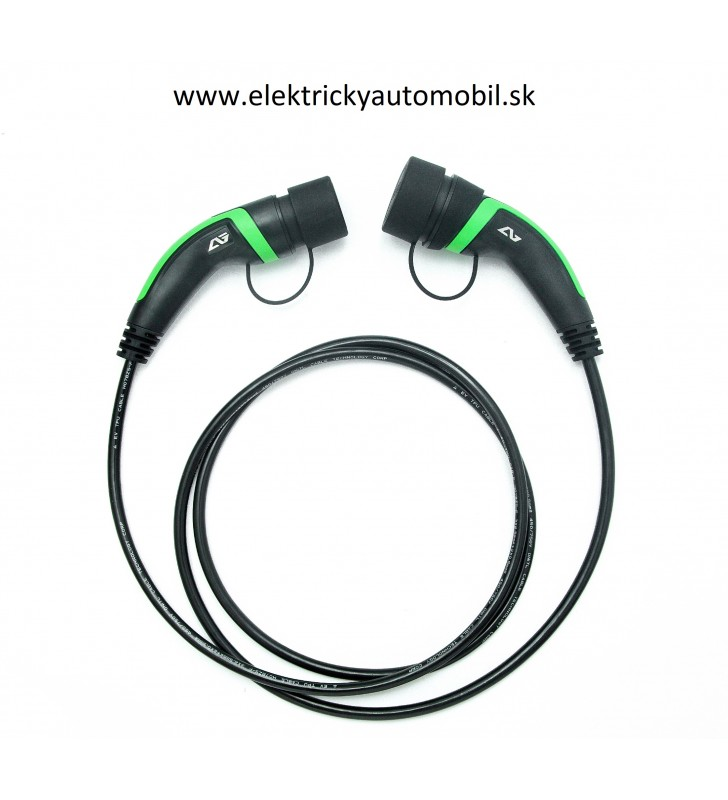 Nabíjací kábel pre Elektromobil TYP2 16A 1 Fáza