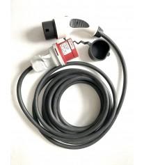 Kábel pre elektromobil Type 2 - 32AMP 1 fáza